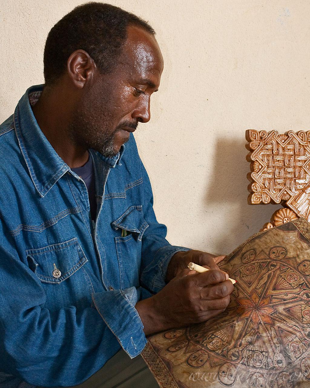 Keshi Mengistu Eyesus, Mek'ele, Tigray, March 2009