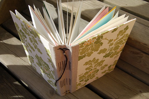 Handmade Art Journal (copyright Hanna Andersson)