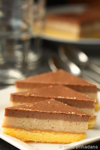Cake with agar-agar