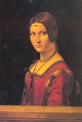 Leonardo da Vinci (1452-1519) - 1490c. Portrait of a Lady From the Court of Milan (Louvre) (RasMarley) Tags: portrait italian louvre davinci painter figure leonardo leonardodavinci 15thcentury 1490s 1490 highrenaissance italianrenaissance renaisssance portraitofaladyfromthecourtofmilan