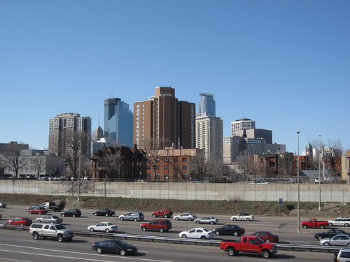 Minneapolis Skyline from Ventura Village