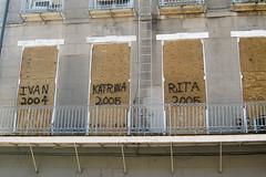 Ivan 2004, Katrina 2005, Rita 2005 (jaon) Tags: 2005 fall 2004 katrina louisiana unitedstates neworleans hurricane ivan rita roadtrip frenchquarter 2008 plywood