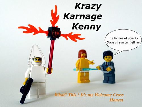 Lego KKK custom minifig