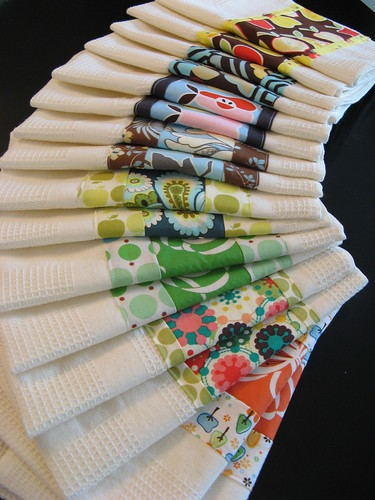 set of dish towels
