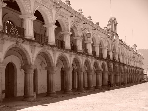 Plaza Central, Antigua.