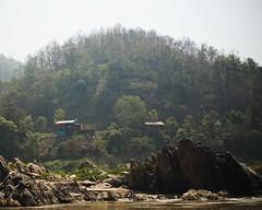 I Wanna Live There (Kim Smith-Miller) Tags: vacation holiday water river landscape thailand scenery pretty 2009 visarun mekongriver fromtheboat grueling slowboattolaos