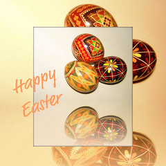Happy Easter 2009 (scilit) Tags: holiday art easter design postcard celebration eggs soe eastereggs 500x500 blueribbonwinner otw paintedeggs cherryontop goldstaraward