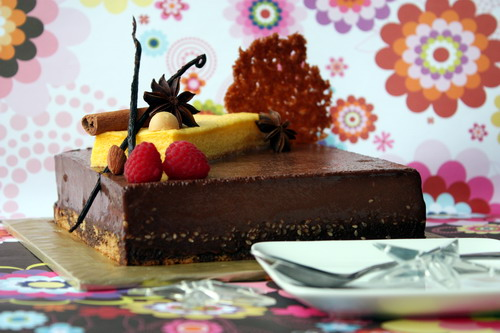 Mango Cloud Chocolat Honey Cake 2