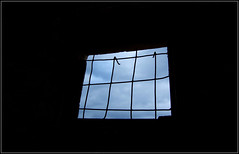 Grating window (Ivan Leshko) Tags: sky bw test black window nice interesting nikon perfect shadows view best excellent abstraction capture grates      ivanleshko