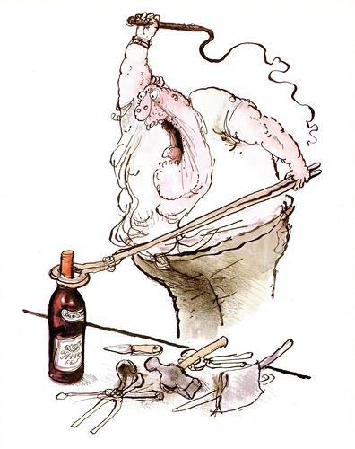 Winespeak - Lacks Subtlety - Ronald Searle
