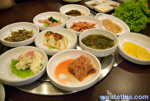 Woo Ga Chon - Korean BBQ Restaurant - Kimchi