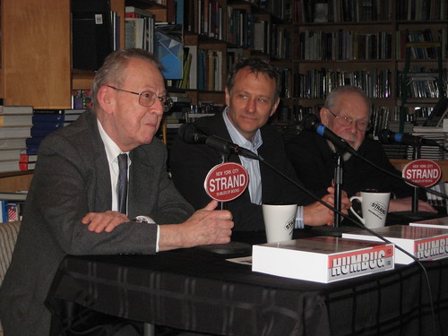 Roth, Groth, and Jaffee talk Humbug at the Strand