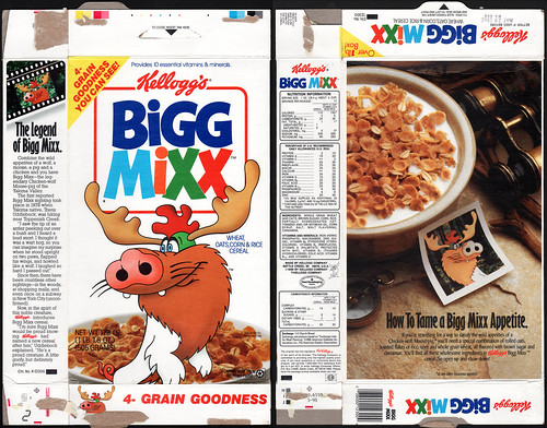 Bigg Mixx box cereal