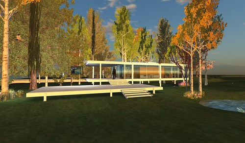 Virtual Project Spaces in Action: Virtual Farnsworth Residence