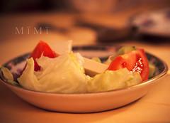Diet (M ï M ï) Tags: family cheese night tomato restaurant salad weekend salt diet
