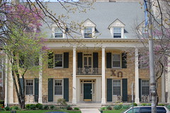 Mom loved this house (Johnny Heger) Tags: college campus illinois spring universityofillinois urbana champaign uofi chipsi
