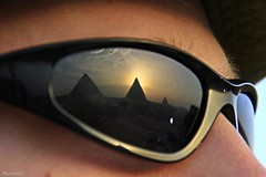 (762) Look at the pyramids [Explore] (unicorn 81) Tags: africa travel egypt kairo cairo giza pyramids ägypten pyramiden mapegypt sunglasses reflections ægyptusintertravel égypte aegyptus voyage excursion rundreise 2009 reise schulzaktivreisen adventure april2009 misr trekking egyptian sahara egipto color colorful roundtrip egypttrip ägyptenreise northafrica nordafrika explore fdsflickstoys interestingness kickass ausgezeichnet medalled greatshot wow egypte egitto egipt egypten αίγυπτοσ ægypten meinjahr2009 look explorephoto detail