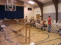 Getting ready for the Pinewood Derby