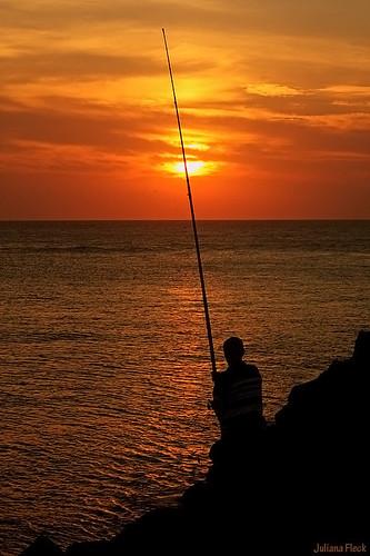 o pescador e a espera