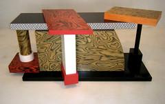 Memphis assemblage table/ chest of drawers (YOUR_studio) Tags: milan como furniture memphis blues corso fair interiordesign 2009 branddesign sotsass yourstudio trendreports milan09 wwwweareyourstudiocom
