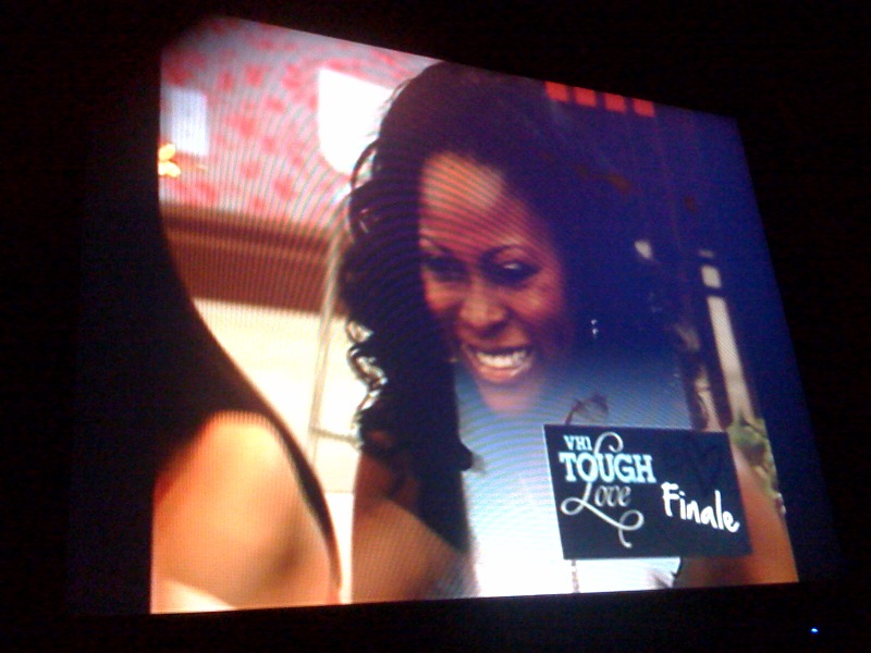 Abiola Abrams on VH1's Tough Love