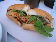 nam - banh mi sandwich