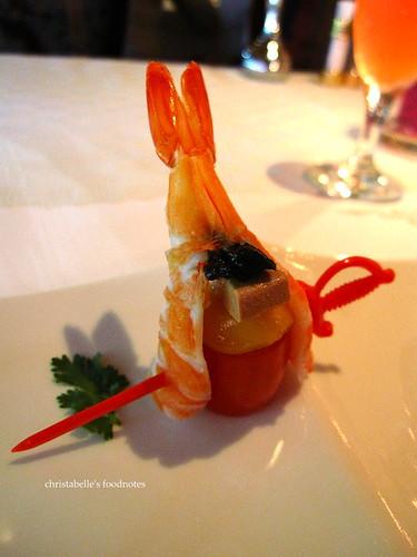 特香齋迎賓開會小菜之蝦沙拉
