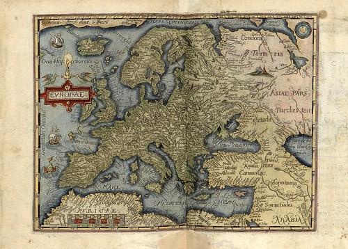 007-Europa-Theatri orbis terrarum enchiridion 1585