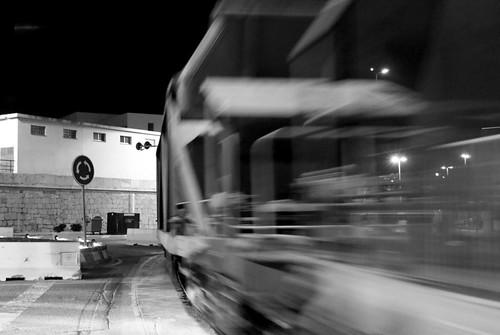 Tren fantasma...
