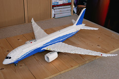 787 (Aviation Dave) Tags: washington lego airbus boeing moc 787 dreamliner 7878 a350 xwb n787ba
