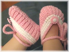 37-09 Baby Ballerinas rosa-weiß4