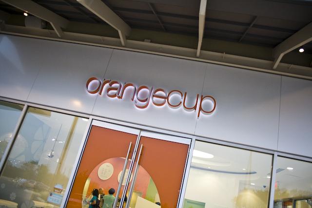 Orange cup-1