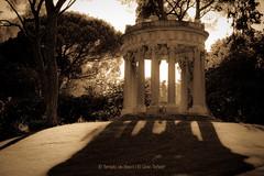 El Templo de Baco (El Gran Toeti) Tags: madrid parque luz sol sepia contraluz arbol nikon arboles jardin sombra