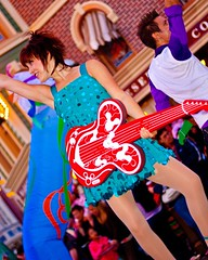 """""""Celebrate! A Street Party!"""" (SDG-Pictures) Tags: california street costumes red party fun dance dancing guitar disneyland turquoise joy performance performing disney sparkle entertainment perform southerncalifornia orangecounty anaheim performers celebrate enjoyment outfits sparkling themepark picnik entertaining streetparty redguitar disneylandresort disneylandpark casp disneylandcastmembers femaleperformers takenbystepheng celebrateastreetparty havingacelebration may142009 editedbystepheng"""