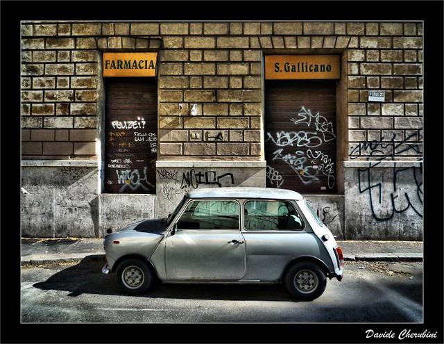 auto white car mini cooper chapeau carro bianca frontpage macchina cherubini autovettura dcherubini davidecherubini