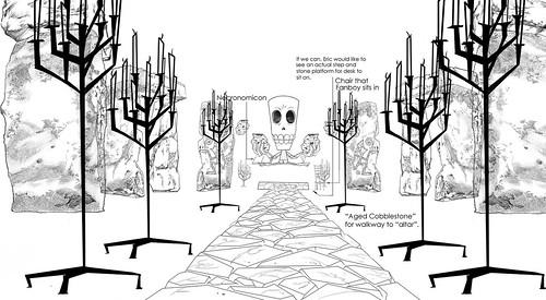 Demonic Temple, Front