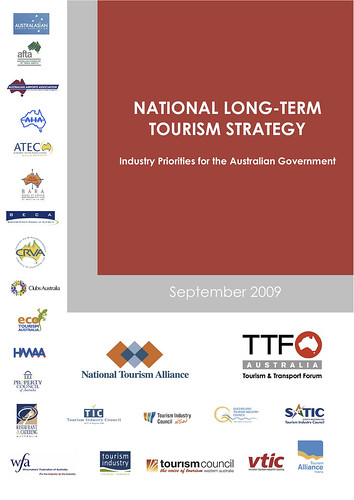 National Long-term Tourism Strategy: Industry Priorities for the Australian Government