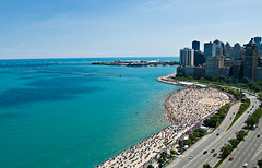 Ahh ... summer (Flipped Out) Tags: chicago lakemichigan lakeshoredrive gettyimages