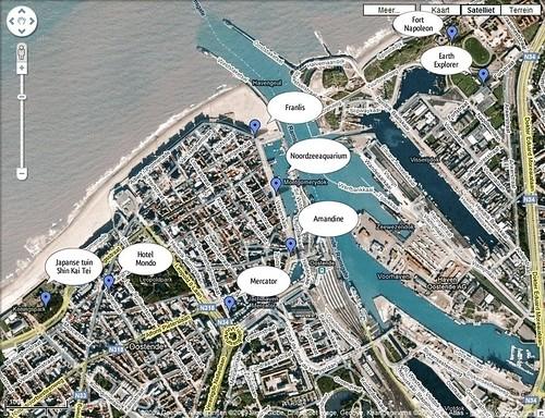 met de @citypass door Oostende