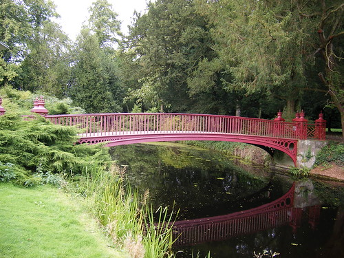 Chinese style bridge - Shugborough Hall