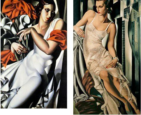 cuadros de Lempicka