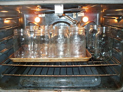 Heat and sterilize jars