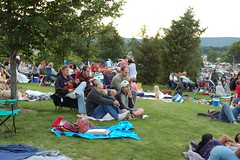 The Crowd (GirlOnAMission) Tags: summer robin crowd 4thofjuly 2009 psu