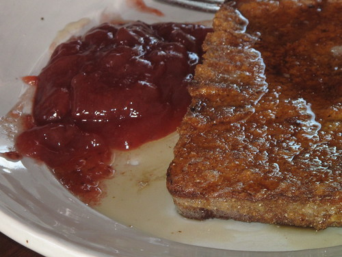 French Toast with Preserves
