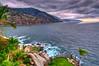 """ The Cliff "" (Alfredo11) Tags: sunset sea sky cliff naturaleza sun seascape sol nature water clouds palms mexico atardecer bay mar agua rocks paisaje cielo bahia nubes alfredo hdr rocas 5exp ptovallarta nikond300"