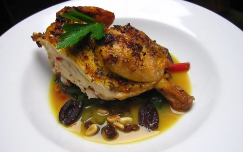 Cornish Game Hen Agrodolce