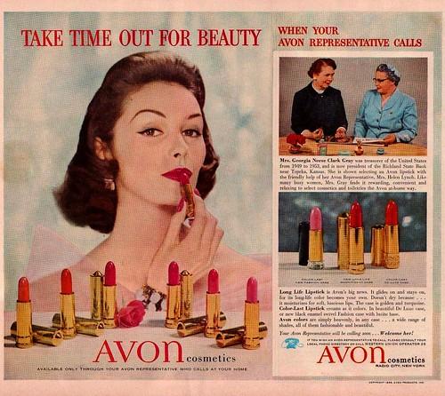 Avon Ad por saltycotton.