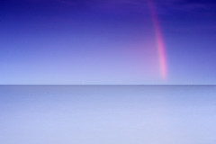 Rainbow Shard Over the sea (AndyV12) Tags: blue sea sky seascape landscape photography rainbow colours horizon minimal hiroshi sugimoto coastuk summertimeuk