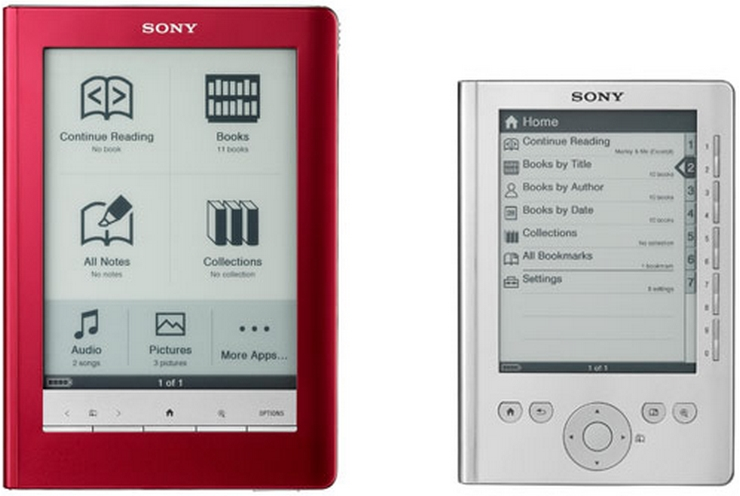 Reader Pocket Edition sony reader touch edition