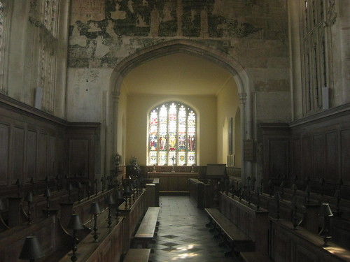 Guild Chapel - from the 15th century. I think its the most beautiful church Ive been to in the UK.